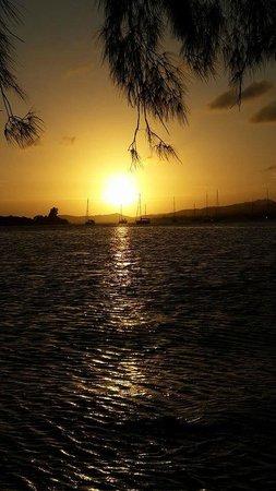 Fantasy Island Beach Resort : Atardecer