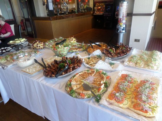 Hotel Craig-Y-Don : Buffet lunch