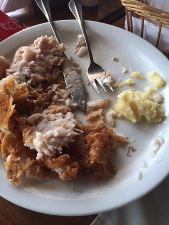 Bakulic: Gusano en el pescado frito