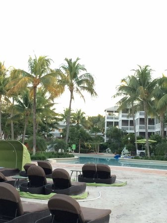 Hyatt Residence Club Key West, Beach House : little manmade beach facing the pool and resort
