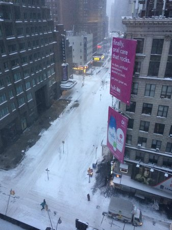 The Manhattan at Times Square Hotel : View From Our Room