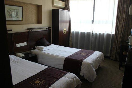 Guan Zhong Hotel Xi'an Nanxin Street: Bedroom