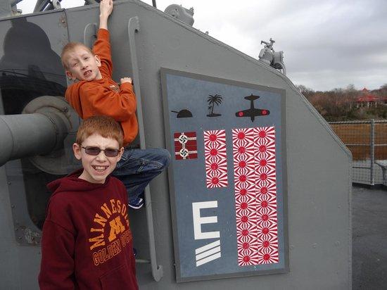 Patriots Point Naval & Maritime Museum: USS Laffy