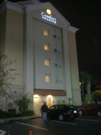 Comfort Suites Downtown : Hotel at night