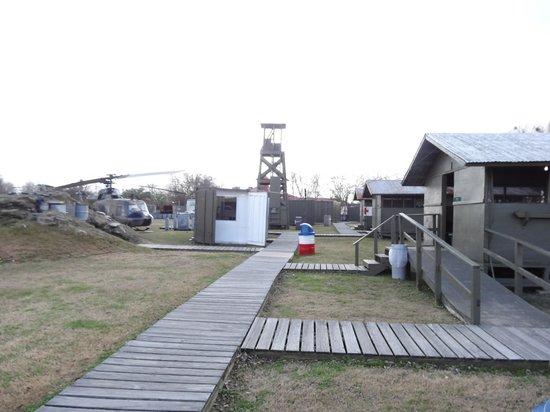 Patriots Point Naval & Maritime Museum: Vietnam Fire base