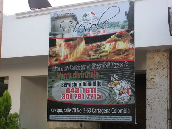Fiesole Pizzeria: publicacion