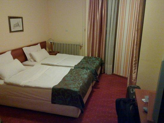 Hotel Srbija: Bedroom.
