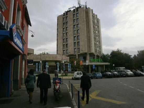 Hotel Srbija: Hotel Serbija.