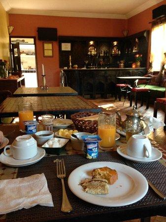 Riad Zahra Mogador : Breakfast