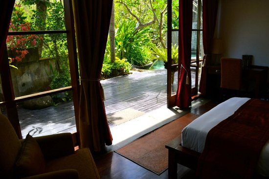 Gending Kedis Villas & Spa Estate : View from second room