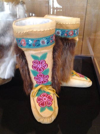 Kwanlin Dun Cultural Centre: Hand-made reproduction