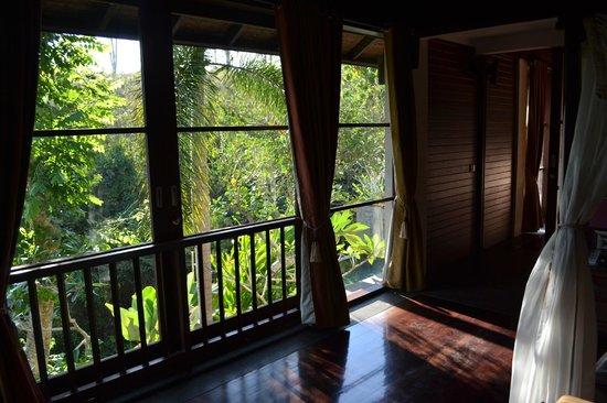 Gending Kedis Villas & Spa Estate : View from main room