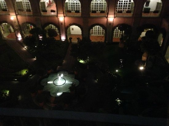 Four Seasons Hotel Mexico City: View from our room at night