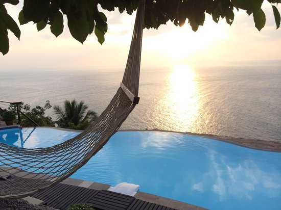 Aminjirah Resort: Amazing sunsets
