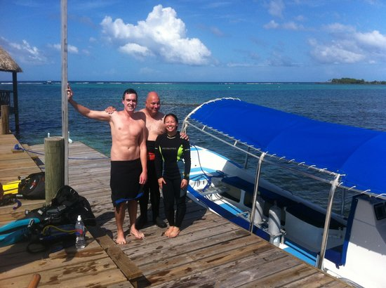 Tranquilseas Eco Lodge and Dive Center: We're certified!