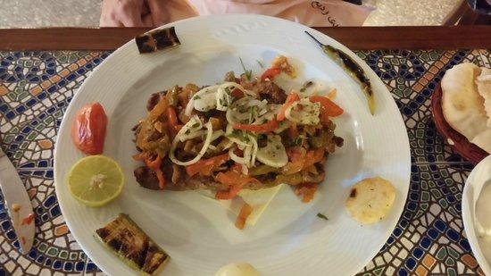 Fairuz : Lamb kofte