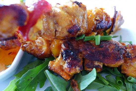 Metro Hassakan: chicken skewers