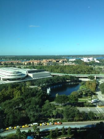 Hyatt Regency Orlando : photo of view from our room