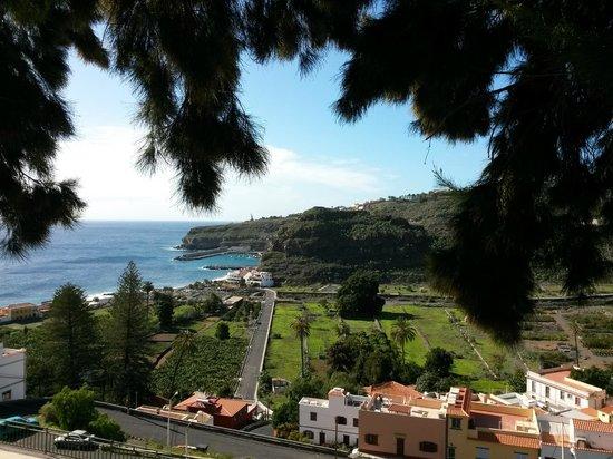 Hotel Jardin Tecina: uitzicht op playa de Santiago
