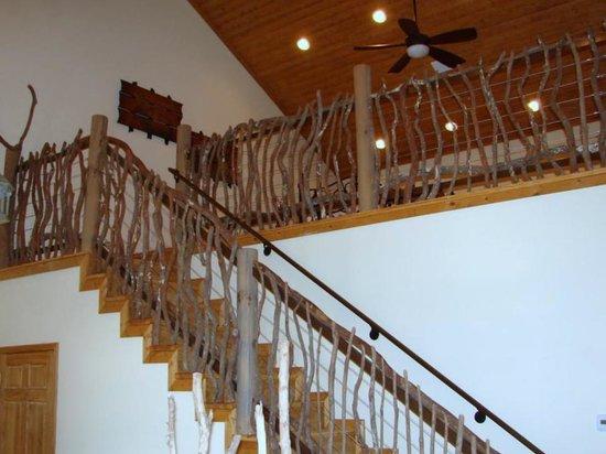 Aloft in the Smokies: 115A Sleeping Loft Area