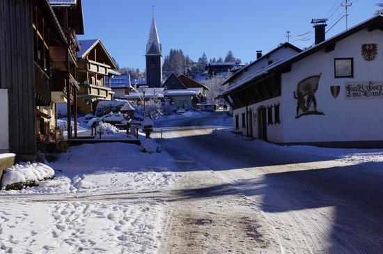 Berghotel Tirol: Village View of Jungholz