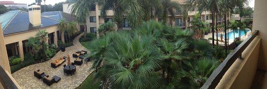 Courtyard West Palm Beach: From balcony
