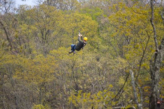 Warren County, OH: Ozone Zipline Adventures