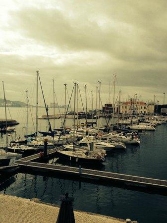 Altis Belém Hotel & Spa: Vista para a Marina e para o Tejo