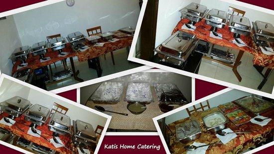Katis Restaurant: Katis Home Catering Setup