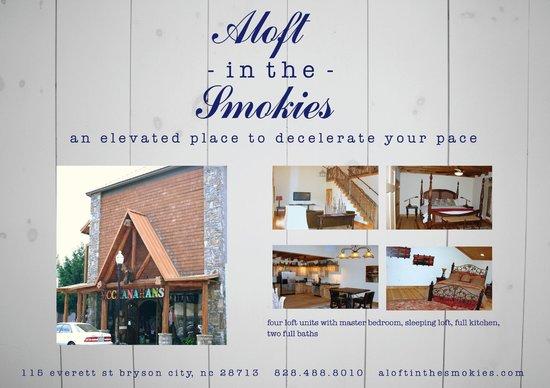 Aloft in the Smokies: Postcard