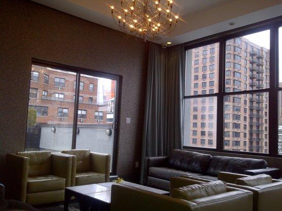 The Marcel at Gramercy: 10th floor ~ breakfast room