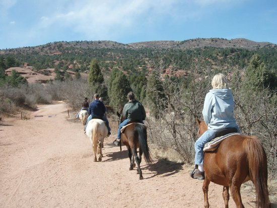 Academy Riding Stables: headed out