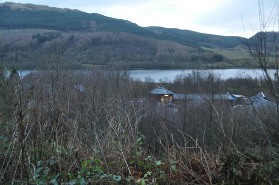 Forest Holidays Strathyre, Scotland: View from the end of the on-site walk