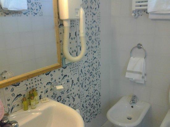 Hotel David: bagno