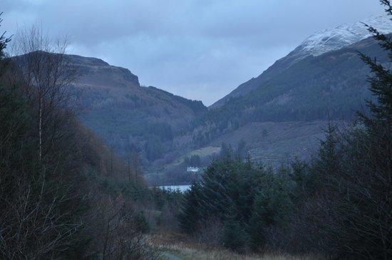 Forest Holidays Strathyre, Scotland: View from the on-site walk