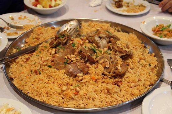 Al Rashid Hotel: ужин
