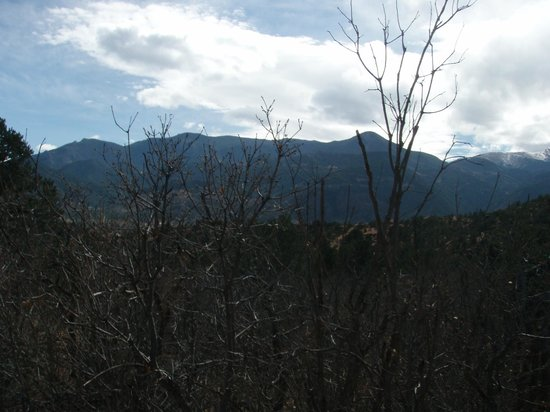 Academy Riding Stables: mountains in the back