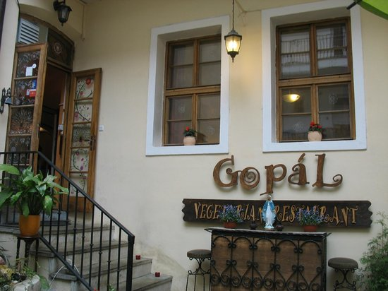 Gopal: esterno del ristorante
