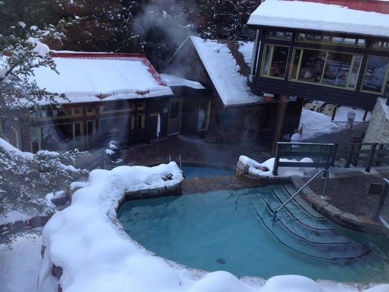 Scandinave Spa Mont-Tremblant: -26C December 30th 2013
