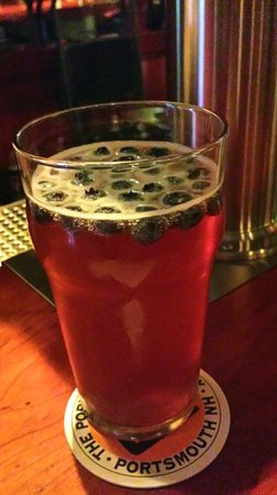 Portsmouth Brewery: Blueberry beer