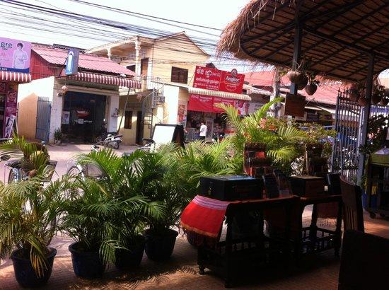 Sala Bai Restaurant School: Pleasant view