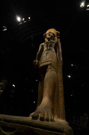 Musée égyptologique de Turin : statua