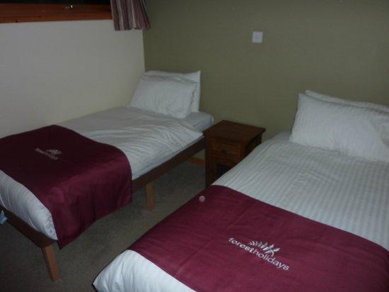 Forest Holidays Strathyre, Scotland: Downstairs bedroom