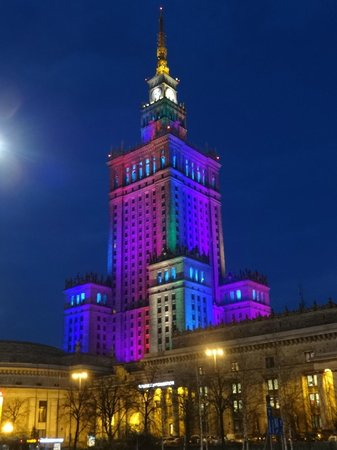 Palais de la culture et de la science (Palac Kultury i Nauki) : Palace of Culture and Science