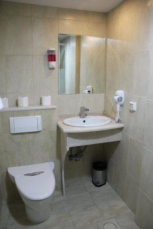 Al Rashid Hotel: ванная