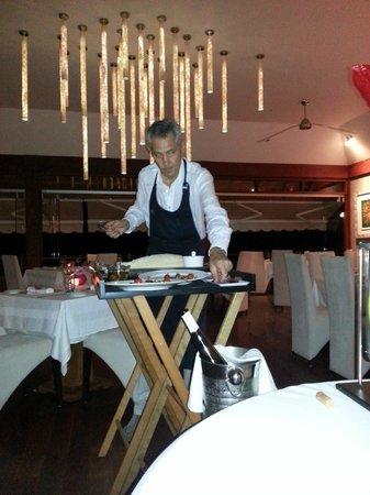 La Villa des Sens: Servis par le Chef