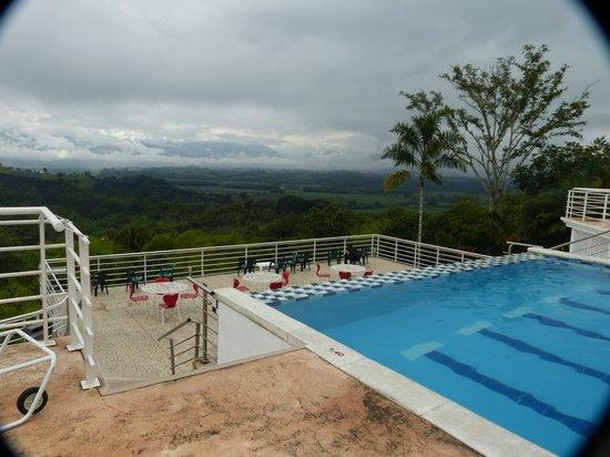 Hotel Mirador Las Palmas : View from pool