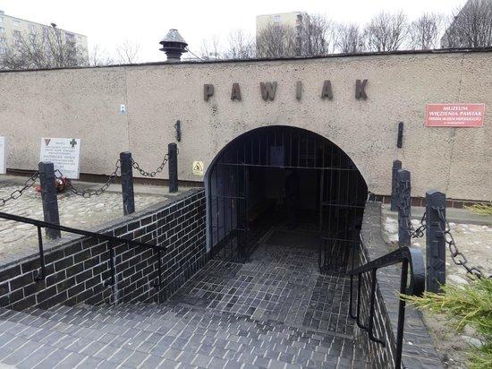 Pawiak Prison Museum : Entrance