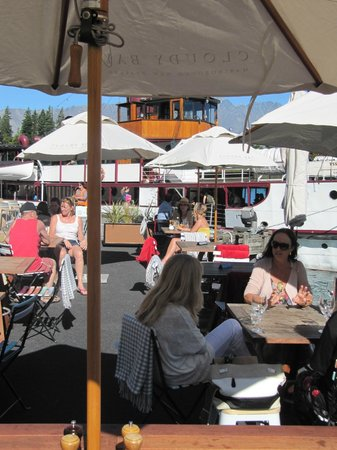 Outdoor dining at Public Kitchen & Bar