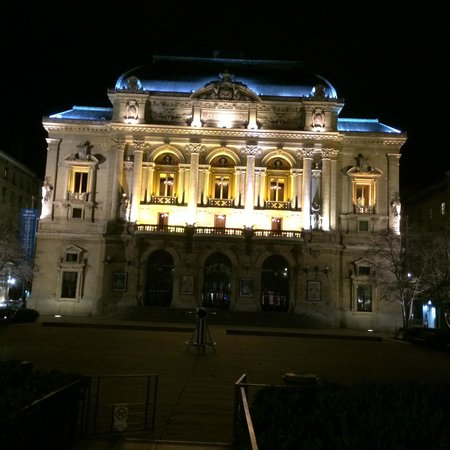 Hotel des Celestins: View of the Opera just down the street